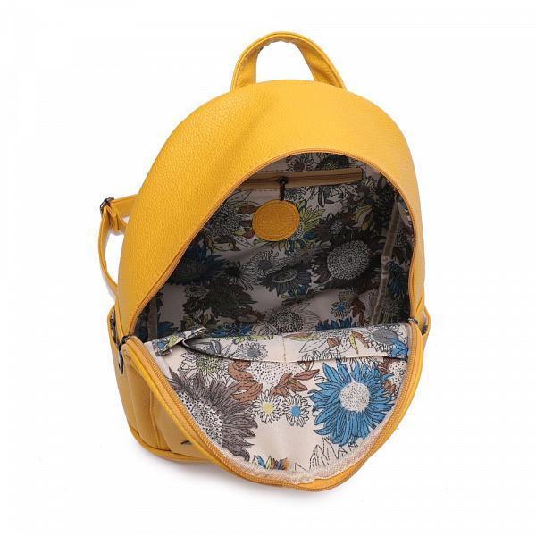 f3a1583e7020 Купить стильный рюкзак Ors Oro для девушек из экокожи украшенный ...